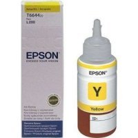 купить Картридж Epson L100 Yellow ink bottle 70ml (C13T66444A)