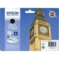 купить Картридж Epson WP 4000/4500 Series Ink L Cartridge Black 1.2k (C13T70314010)