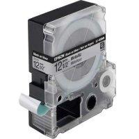 купить Картридж Epson Tape - LC4WBW9 Strng adh Blk/Wht 12/9 (C53S625411)