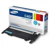 Тонер картридж Samsung CLP-407S (синий)