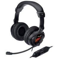 Игровые Наушники Genius HS-G500V Gaming / Microphone + Vibration