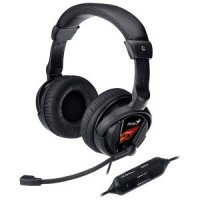 kupit-Игровые Наушники Genius HS-G500V Gaming / Microphone + Vibration-v-baku-v-azerbaycane