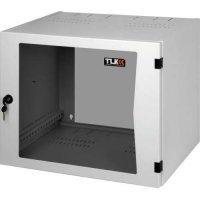 kupit-RACK Настенный двухсекционный шкаф Hyperline TWC-065350-M-GY 6U (TWC-065350-M-GY)-v-baku-v-azerbaycane