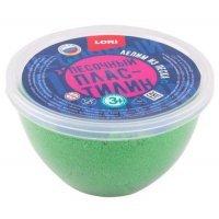 kupit-пластилин песочный Lori 250 г зеленый Пп-004-v-baku-v-azerbaycane