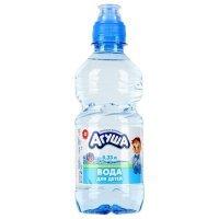 Агуша: Вода питьевая 0,33л