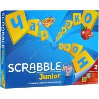 kupit-настольная игра Mattel Scrabble Junior - Russian-v-baku-v-azerbaycane