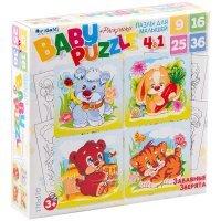 kupit-набор пазлов Origami 4 в 1 Забавные Зверята 269703-v-baku-v-azerbaycane