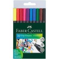 kupit-Гелевые ручки 10 цветов Faber Castell-v-baku-v-azerbaycane
