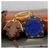 kupit-Брелок Гарри Поттер: Шоколадная лягушка-v-baku-v-azerbaycane