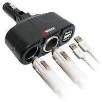 kupit-Зарядка Wagan Twin USB/DC-v-baku-v-azerbaycane