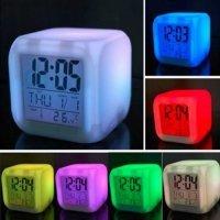kupit-Светящиеся часы 7 LED-v-baku-v-azerbaycane