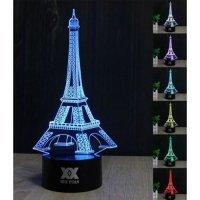 """3D светильник """"Эйфелева Башня"""""""