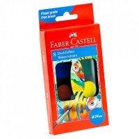 kupit-акварельные краски Faber Castell 8 цветов 125008-v-baku-v-azerbaycane