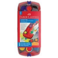 kupit-акварельные краски Faber Castell 24 цвета 125029-v-baku-v-azerbaycane