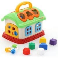 kupit-игрушка-сортер Polesie Сказочный домик 48745-v-baku-v-azerbaycane