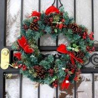 kupit-Венок Royal Christmas DURHAM WREATH (0.75 metr)-v-baku-v-azerbaycane