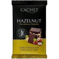 """kupit-Шоколад """"Cachet"""" Dark Chocolate with Hazelnut, 54% Cocoa, 300 г-v-baku-v-azerbaycane"""