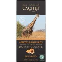 "kupit-Шоколад ""Cachet"" Dark Chocolate With Apricots & Hazelnuts Tanzania, 57% Cocoa, 100 г-v-baku-v-azerbaycane"