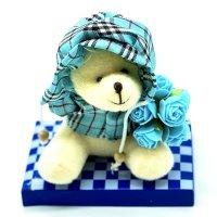 kupit-подарочный мишка мягкая игрушка в коробке-v-baku-v-azerbaycane