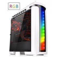 kupit-Компьютерный корпус Thermaltake Versa C22 RGB Snow/White/Win/SPCC/Full Window (CA-1G9-00M6WN-00)-v-baku-v-azerbaycane