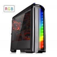 kupit-Компьютерный корпус Thermaltake Versa C22 RGB/Black/Win/SPCC/Full Window (CA-1G9-00M1WN-00)-v-baku-v-azerbaycane