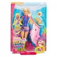 """kupit-Игра MATTEL Барби """"Морские приключения"""" - Кукла с дельфином (звук) (FBD63)-v-baku-v-azerbaycane"""
