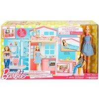 kupit-Игра MATTEL Портативный домик Barbie с куклой (DVV48)  -v-baku-v-azerbaycane