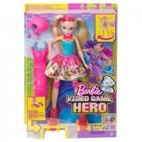kupit-Игра MATTEL Barbie ™ Video Game Hero - Skating Doll  (DTW17)-v-baku-v-azerbaycane
