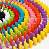 kupit-ИГРА разноцветное домино для семьи (DOMINO)-v-baku-v-azerbaycane