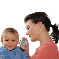 """Термометр для ребенка бесконтактный ушной инфракрасный градусник """"One Second"""" Homedics"""