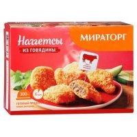 kupit-Наггетсы говядина Мираторг , 300г-v-baku-v-azerbaycane