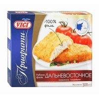 kupit-Минтай Vici Дальневосточное филе панированное 300г-v-baku-v-azerbaycane